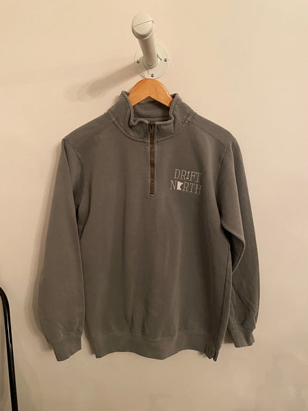 Drift North 3/4 Zip Sweatshirt | Grey