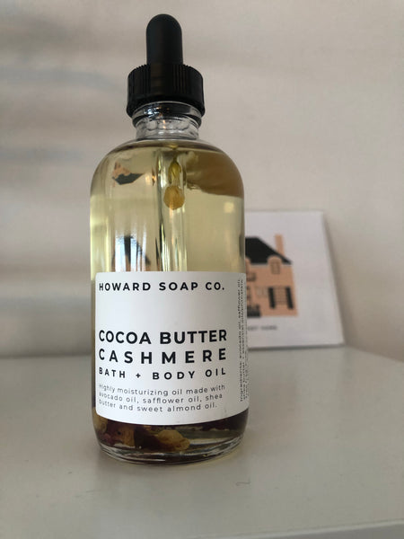 Bath + Body Oil | Cocoa Butter Cashmere