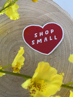 Shop Small Decal