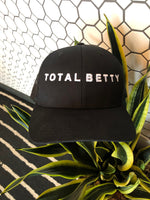 TOTAL BETTY Mesh Cap | Black