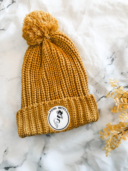 TOTAL BETTY Pom Pom Beanie | Choose Color