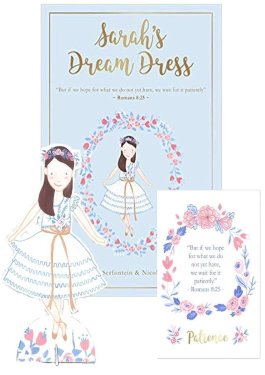 Sarah's Dream Dress Set: Book + Paper Doll + Art Print