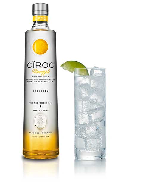 Ciroc Vodka Colada Cocktail