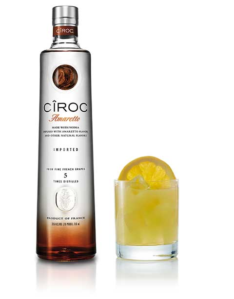 Ciroc Vodka Harlem Sour Cocktail
