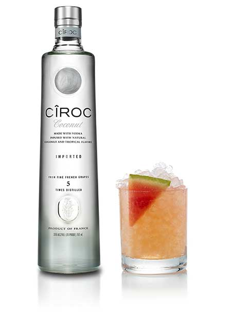 Ciroc Vodka Hot Mama Cocktail