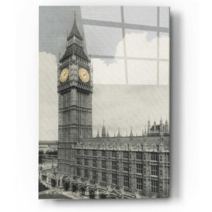 "Epic Art 'Big Ben' by Yellow Cafe, Acrylic Glass Wall Art, 12""x16"""