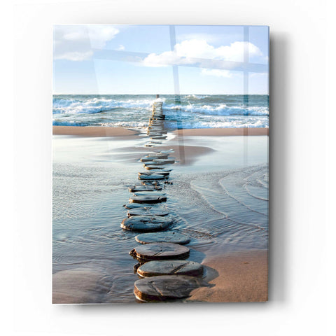 Epic Art 'Stepping Stones' Acrylic Glass Wall Art