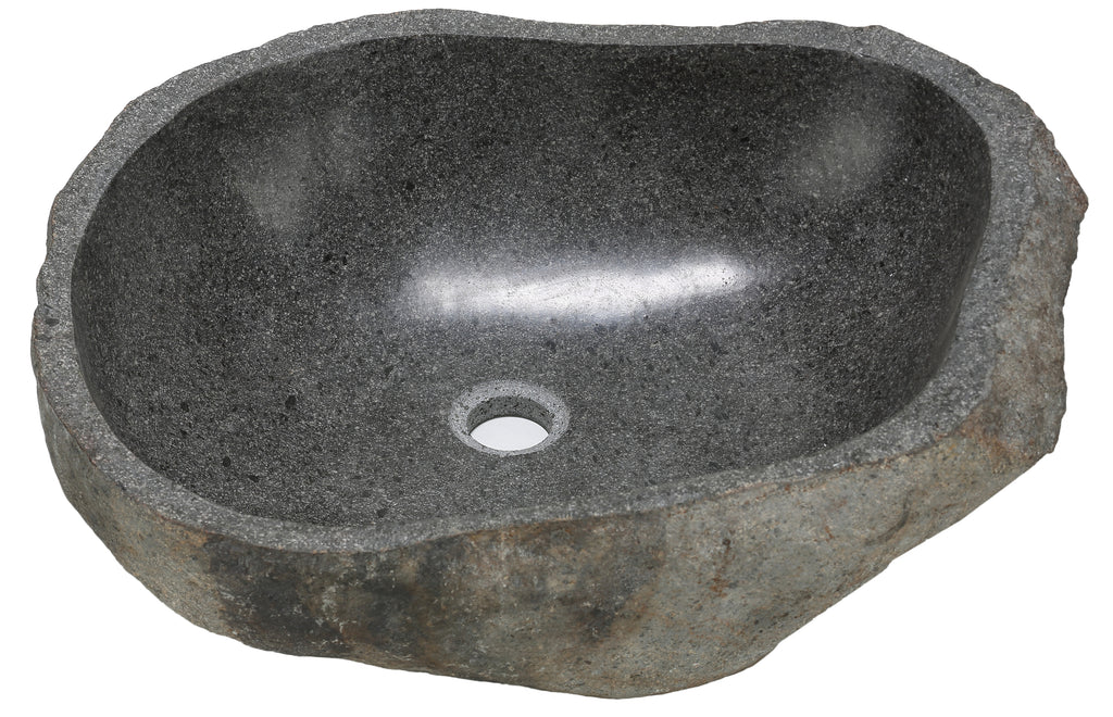 Bare Decor Rio Sink in Natural Stone