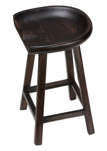 Bare Decor Lucy Wooden Counter Stool, 26