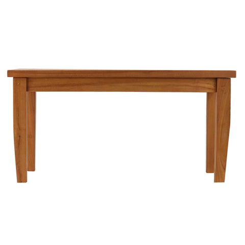 "Bare Decor Karen Indoor or Outdoor Solid Teak Wood Coffee Table 36"" x 20"""