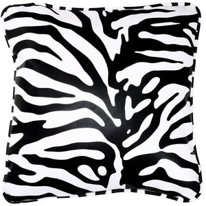 Cortesi Home Zebroid Accent Pillow in Zebra Print