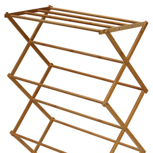 Cortesi Home Eli Bamboo Clothing Drying Rack