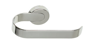 Milo Contemporary Stainless Steel Wall Mounted Toilet Paper Holder, Chrome
