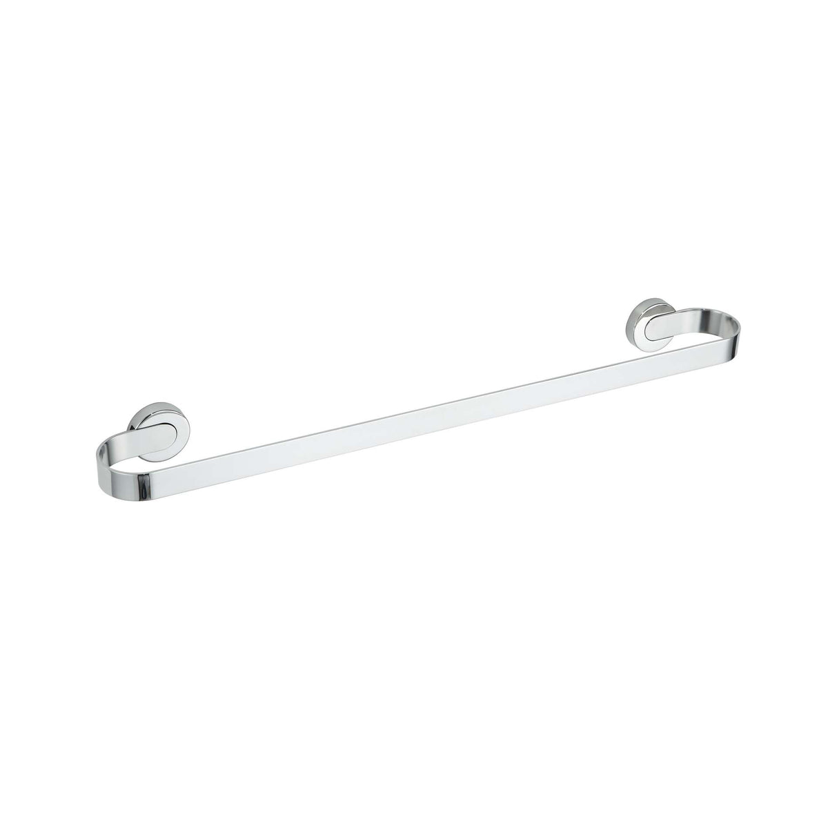Milo Contemporary Stainless Steel Towel Bar, Chrome