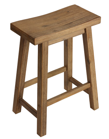 Cortesi Home Emma Counter Height Barstool in Solid Wood