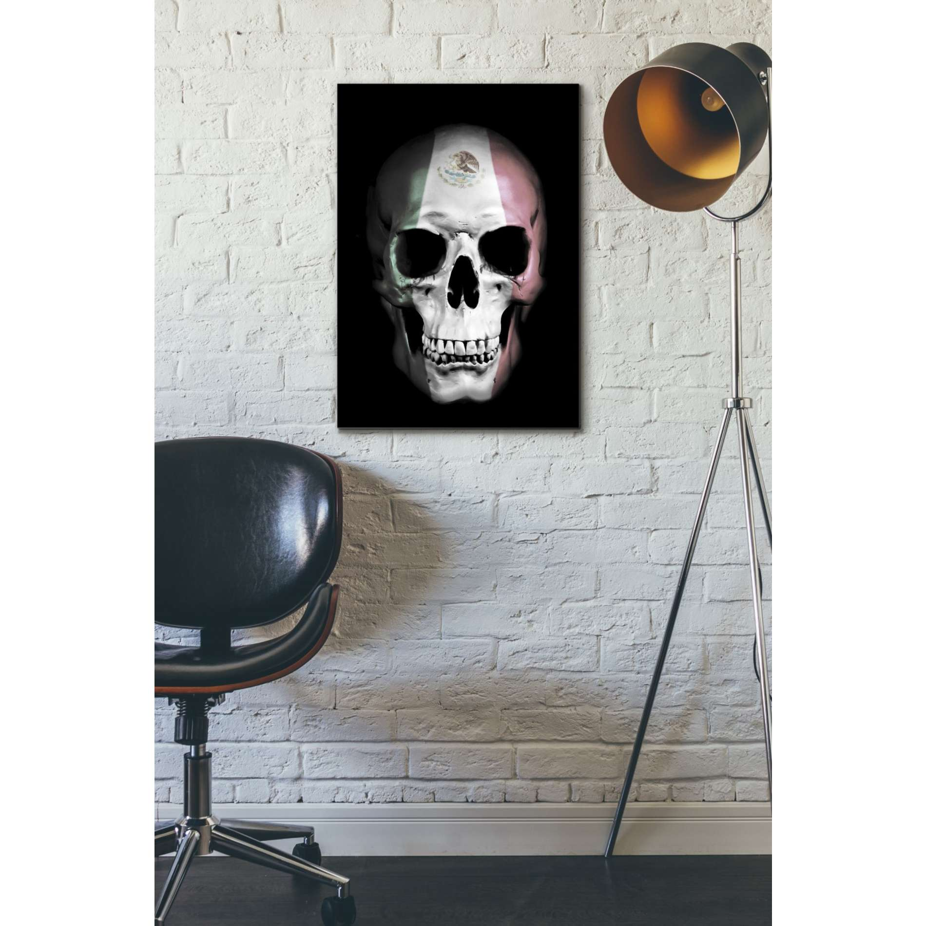 "Cortesi Home ""Mexican Skull"" by Nicklas Gustafsson, Giclee Canvas Wall Art"