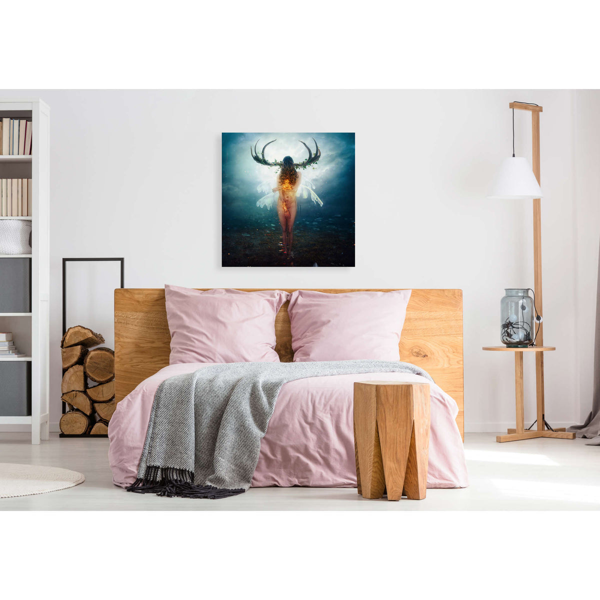 Cortesi Home 'Shelter' by Mario Sanchez Nevado, Canvas Wall Art,40 x 40
