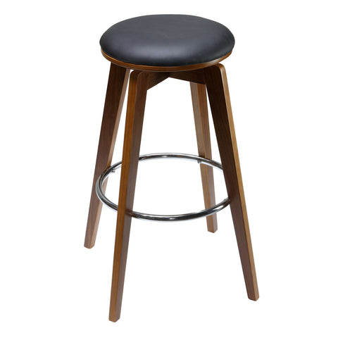 Image of Cortesi Home Draven Counterstools with Swivel Seat (Set of 2)