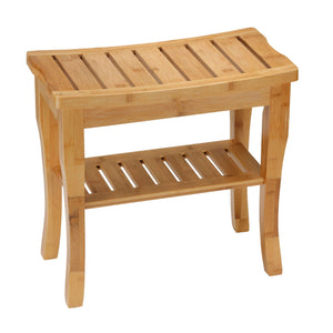Cortesi Home Mack Natural Bamboo Bench, Small