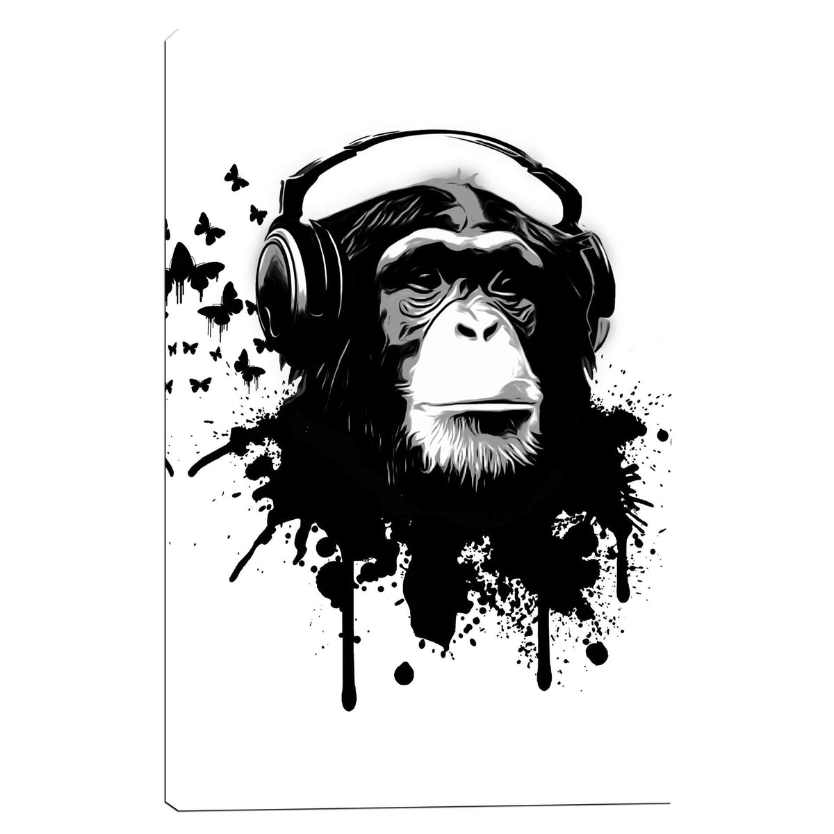 Cortesi Home 'Monkey Business' by Nicklas Gustafsson, Canvas Wall Art
