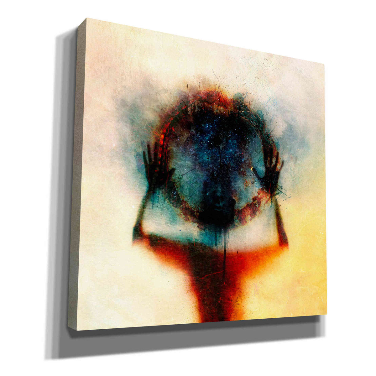 Cortesi Home 'Closer' by Mario Sanchez Nevado, Canvas Wall Art,Size 1 Square