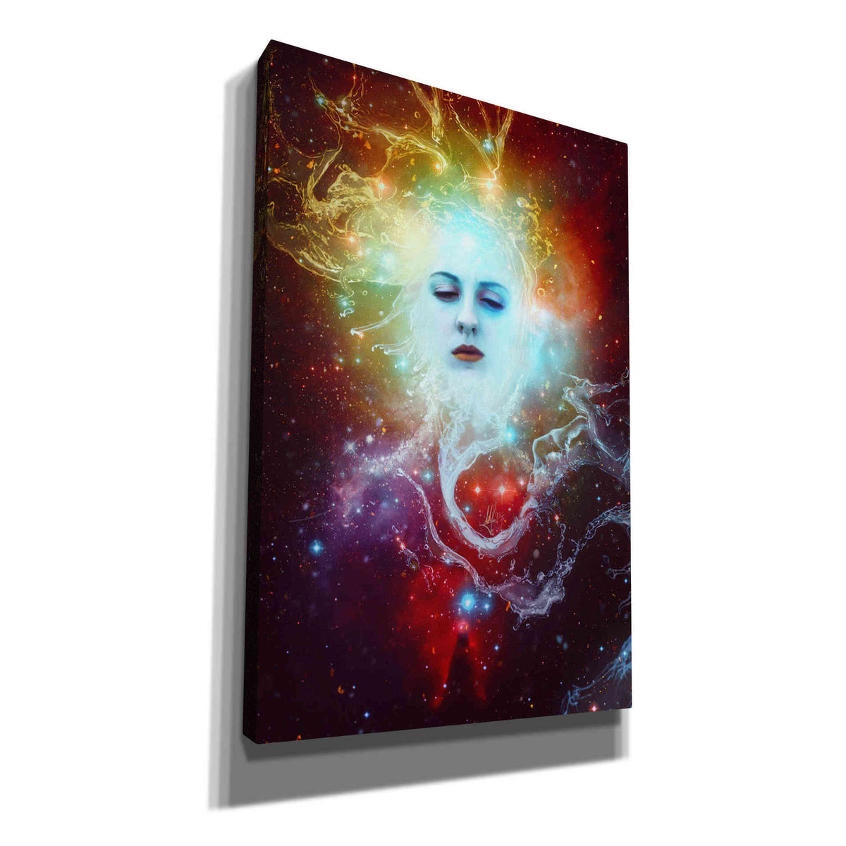 Cortesi Home 'Conscience' by Mario Sanchez Nevado, Canvas Wall Art,Size A Portrait