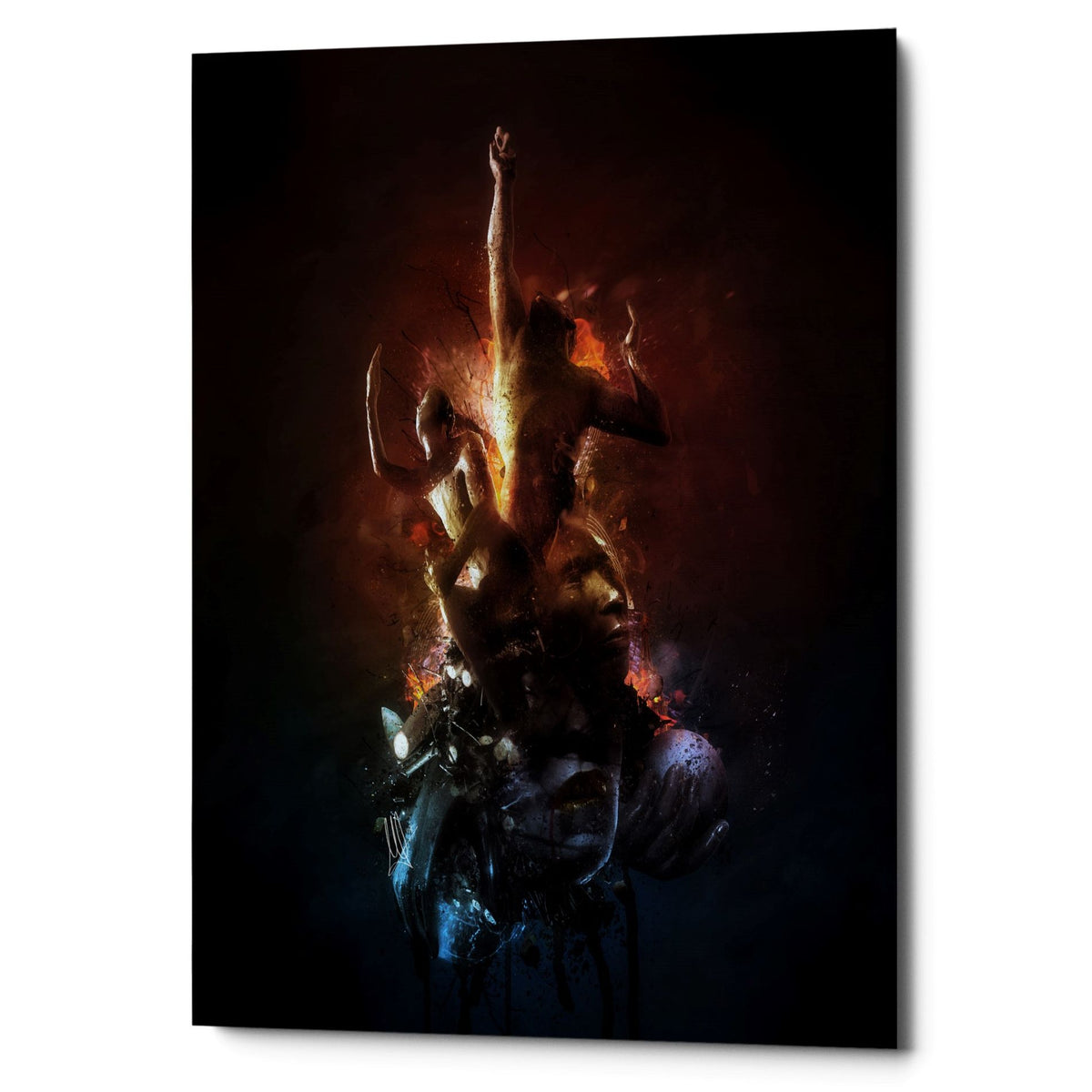 "Cortesi Home ""Hell Are The Others"" by Mario Sanchez Nevado, Giclee Canvas Wall Art"