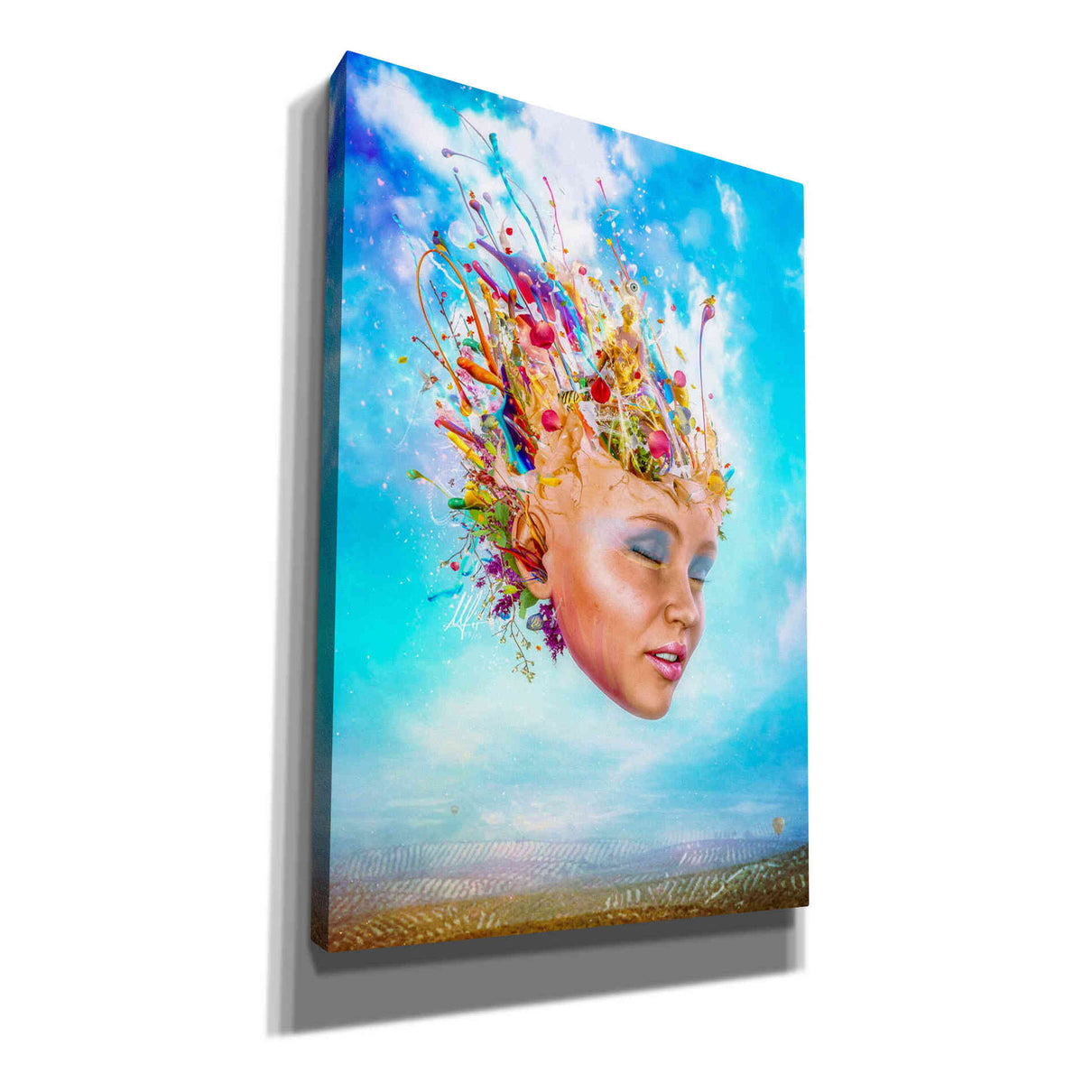 Cortesi Home 'Muse' by Mario Sanchez Nevado, Canvas Wall Art,Size A Portrait