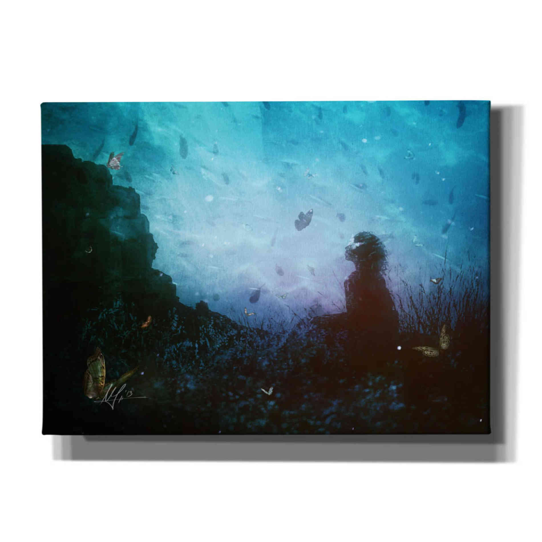 Cortesi Home 'Shattered Memories' by Mario Sanchez Nevado, Canvas Wall Art,Size A Landscape