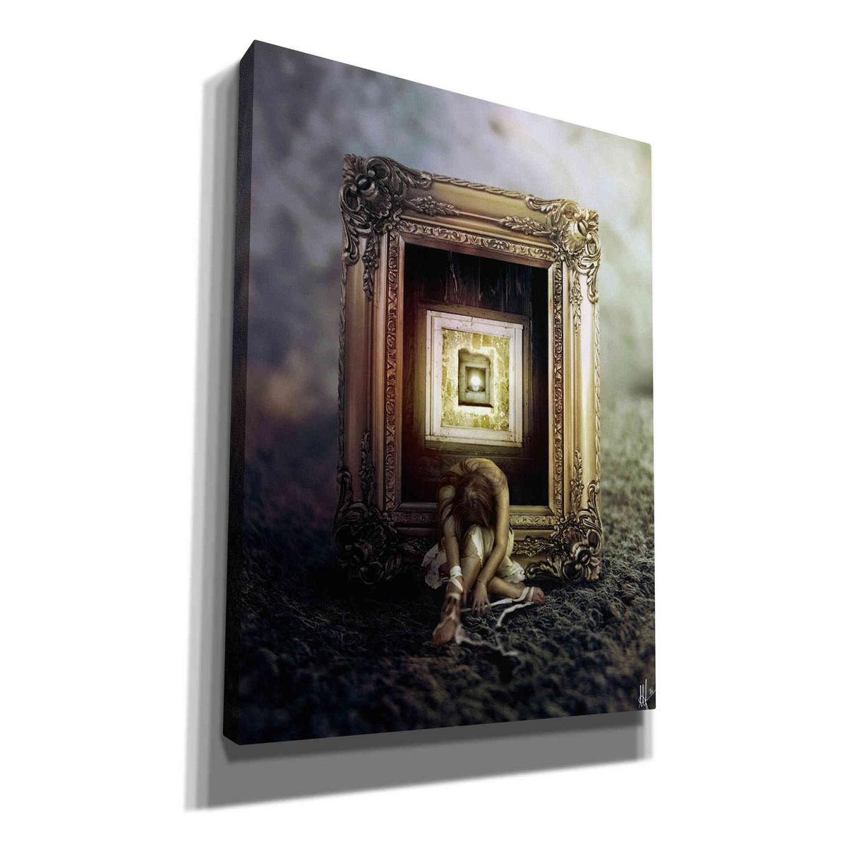 Cortesi Home 'Shrink' by Mario Sanchez Nevado, Canvas Wall Art,Size A Portrait