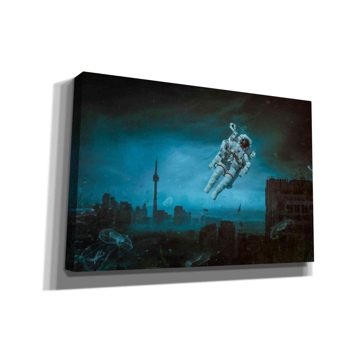 Cortesi Home 'Sometimes' by Mario Sanchez Nevado, Canvas Wall Art,Size A Landscape