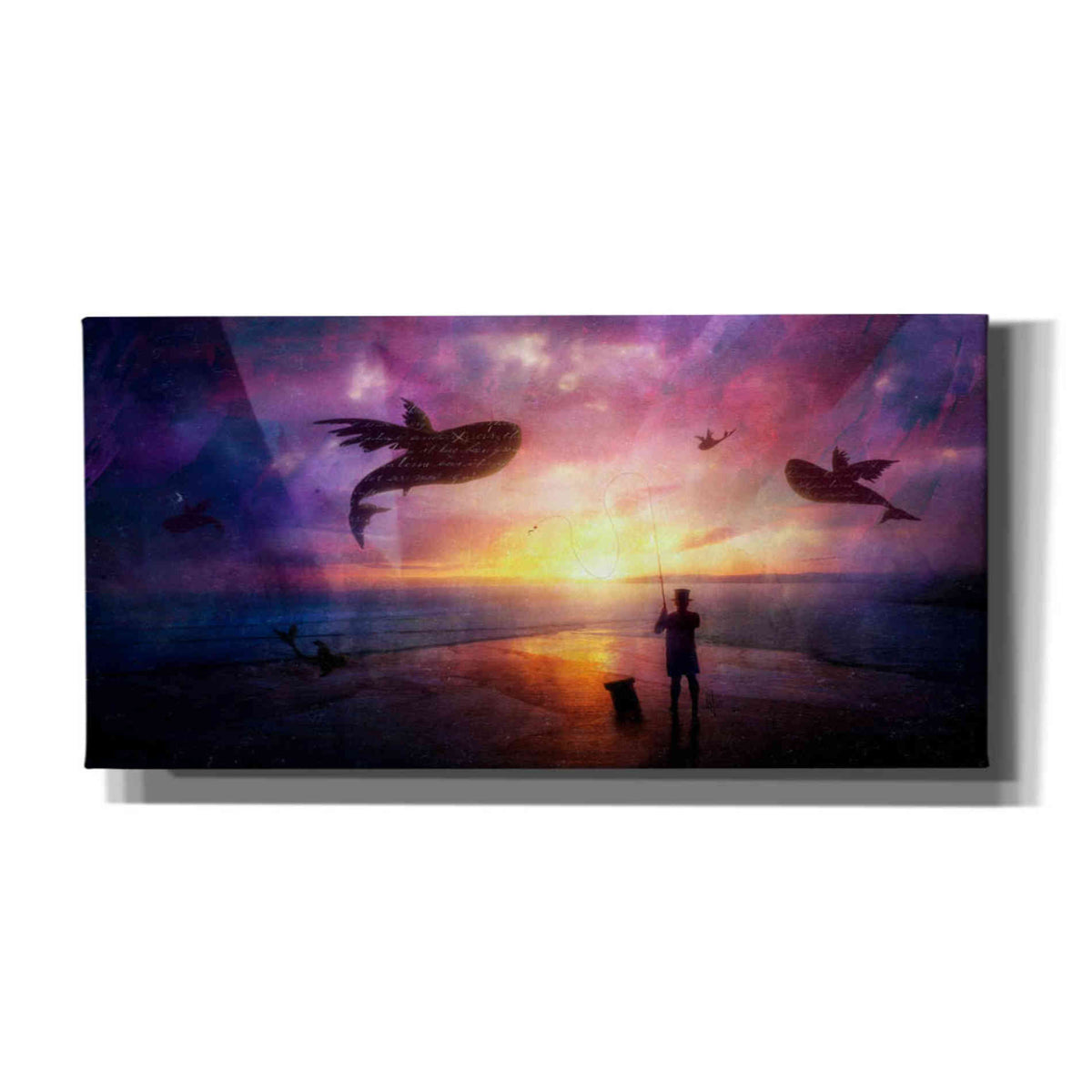Cortesi Home 'The Answer' by Mario Sanchez Nevado, Canvas Wall Art,Size 2 Landscape