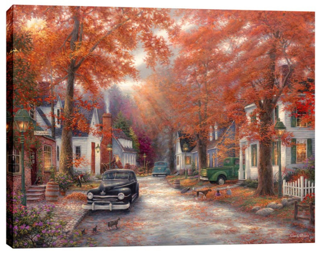 "Cortesi Home ""A Moment on Memory Lane"" by Chuck Pinson, Giclee Canvas Wall Art"