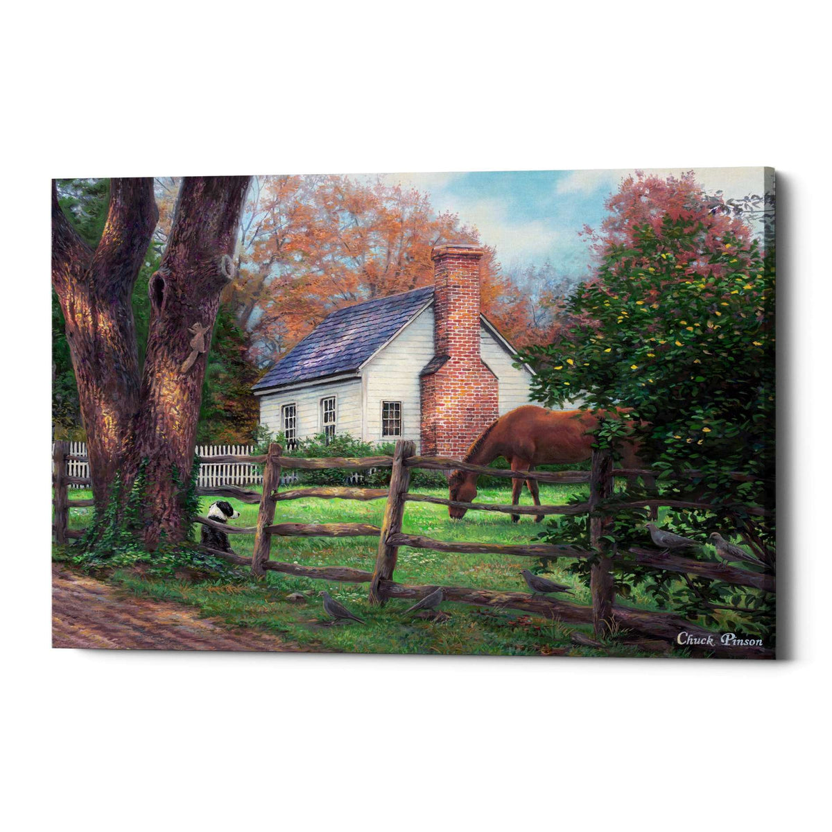 Cortesi Home 'Where Time Moves Slower' by Chuck Pinson, Canvas Wall Art