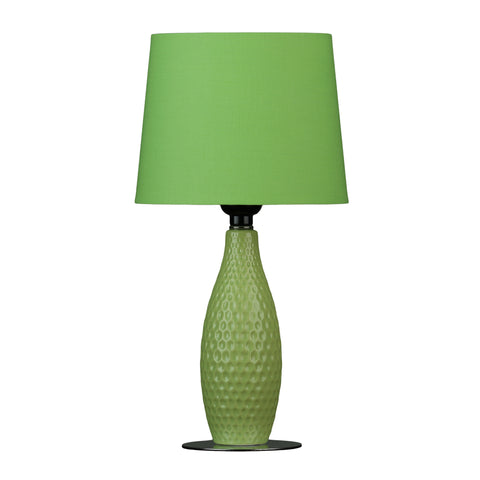 Cortesi Home Madison Small Table Lamp, Light Green