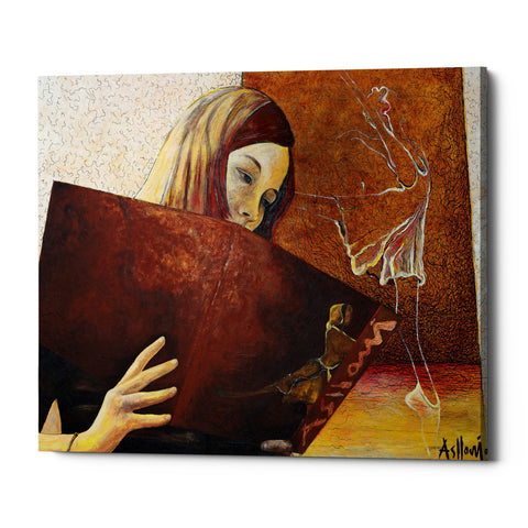 "Epic Graffiti ""The Viewer"" by Samedin Asllani, Giclee Canvas Wall Art"