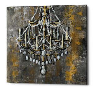 "Epic Graffiti ""Vintage Chandelier I"" by Silvia Vassileva, Giclee Canvas Wall Art, 12""x12"""