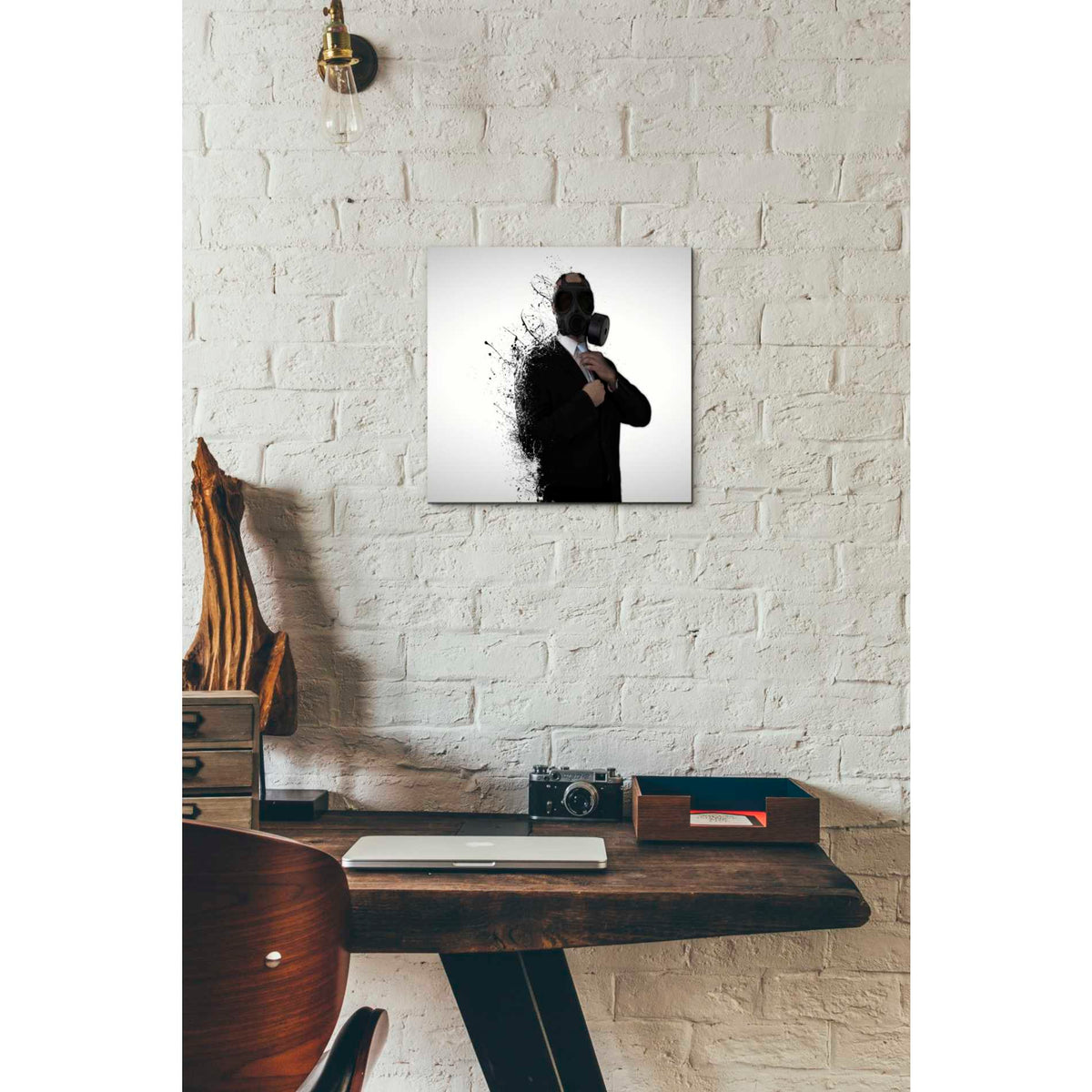 Cortesi Home 'Dissolution of Man' by Nicklas Gustafsson, Canvas Wall Art,12 x 12