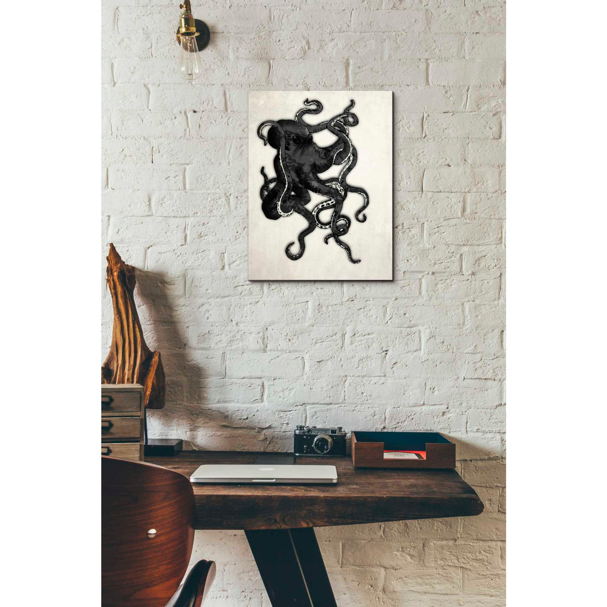 Cortesi Home 'Octopus' by Nicklas Gustafsson, Canvas Wall Art,12 x 16