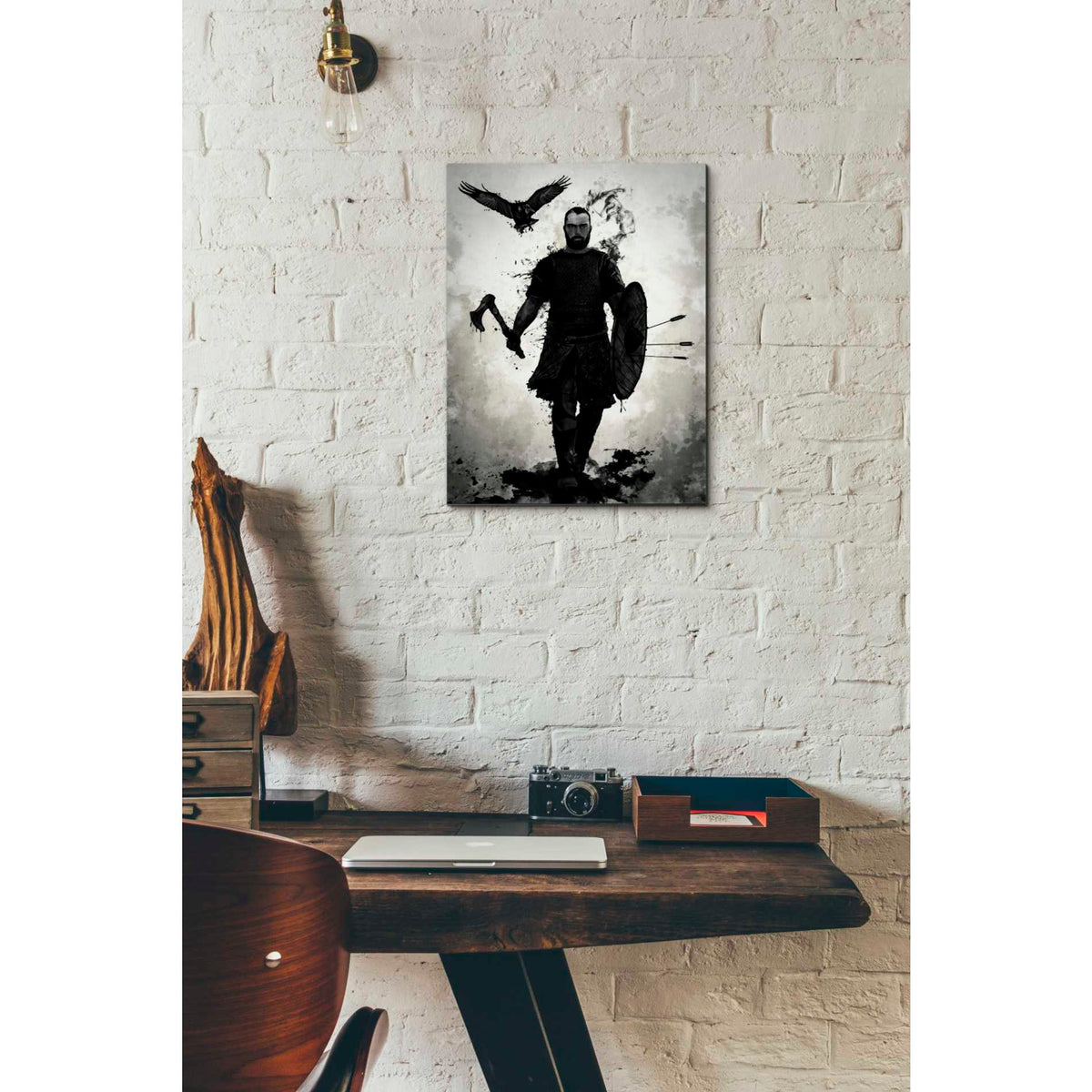 Cortesi Home 'To Valhalla' by Nicklas Gustafsson, Canvas Wall Art,12 x 16