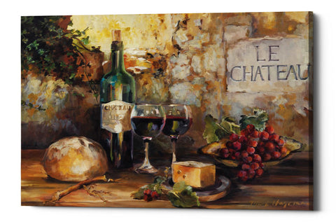 "Epic Graffiti ""Le Chateau"" by Marilyn Hageman, Giclee Canvas Wall Art, 12""x18"""