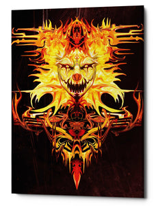 "Epic Graffiti ""Trickster"" by Michael Stewart, Giclee Canvas Wall Art, 12""x18"""