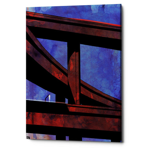 "Epic Graffiti ""Cars 8"" by Giuseppe Cristiano, Giclee Canvas Wall Art, 12""x18"""