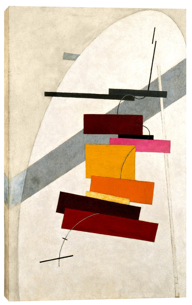 "Epic Graffiti ""Untitled"" by El Lissitzky Giclee Canvas Wall Art, 12"" x 20"""