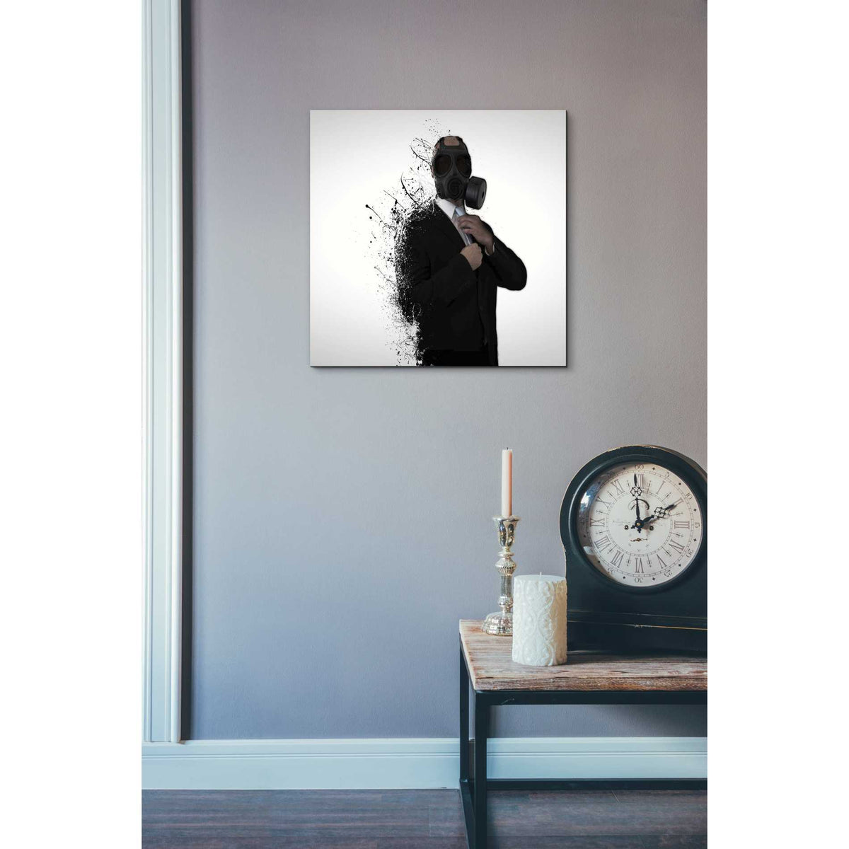 Cortesi Home 'Dissolution of Man' by Nicklas Gustafsson, Canvas Wall Art,18 x 18