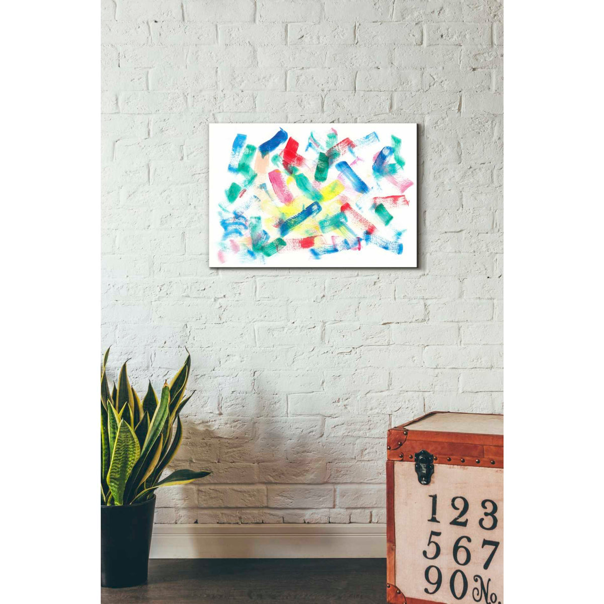Epic Graffiti 'Olivye' Giclee Canvas Wall Art