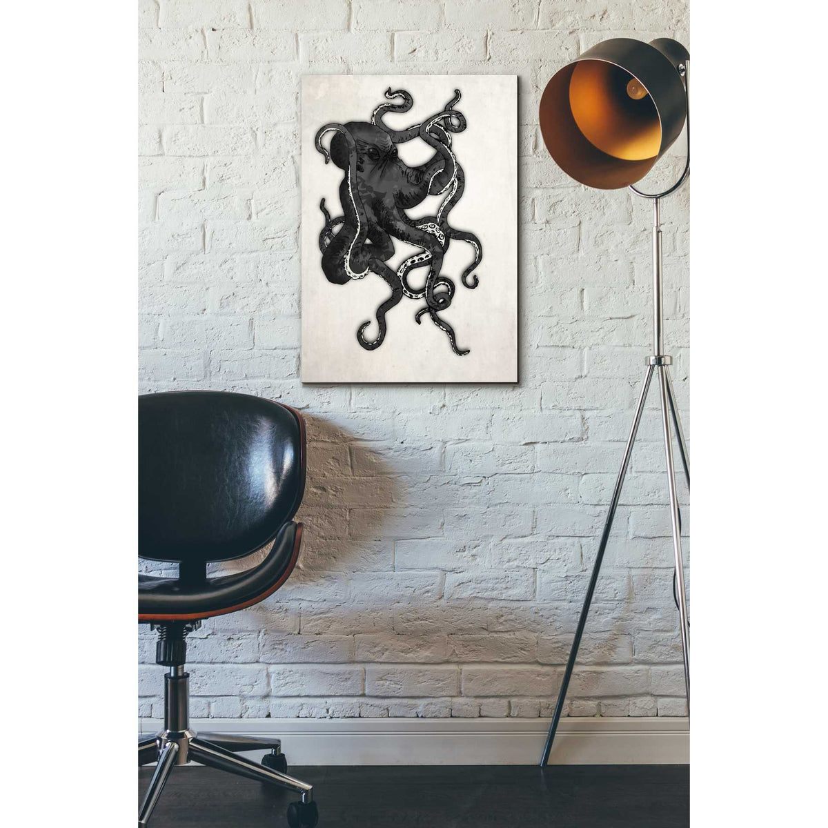 Cortesi Home 'Octopus' by Nicklas Gustafsson, Canvas Wall Art,18 x 26