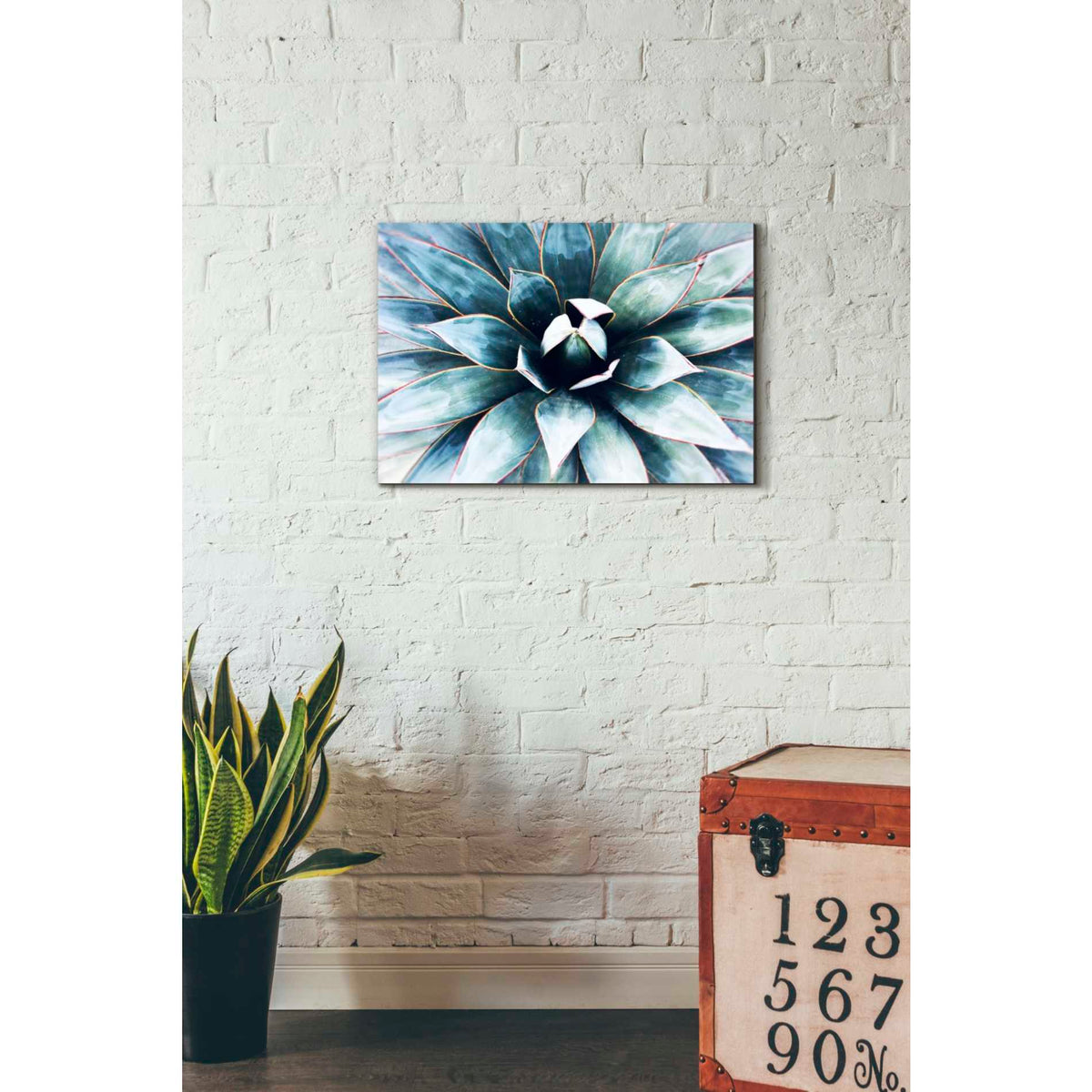 Epic Graffiti 'Tropical Star' by Irena Orlov, Giclee Canvas Wall Art