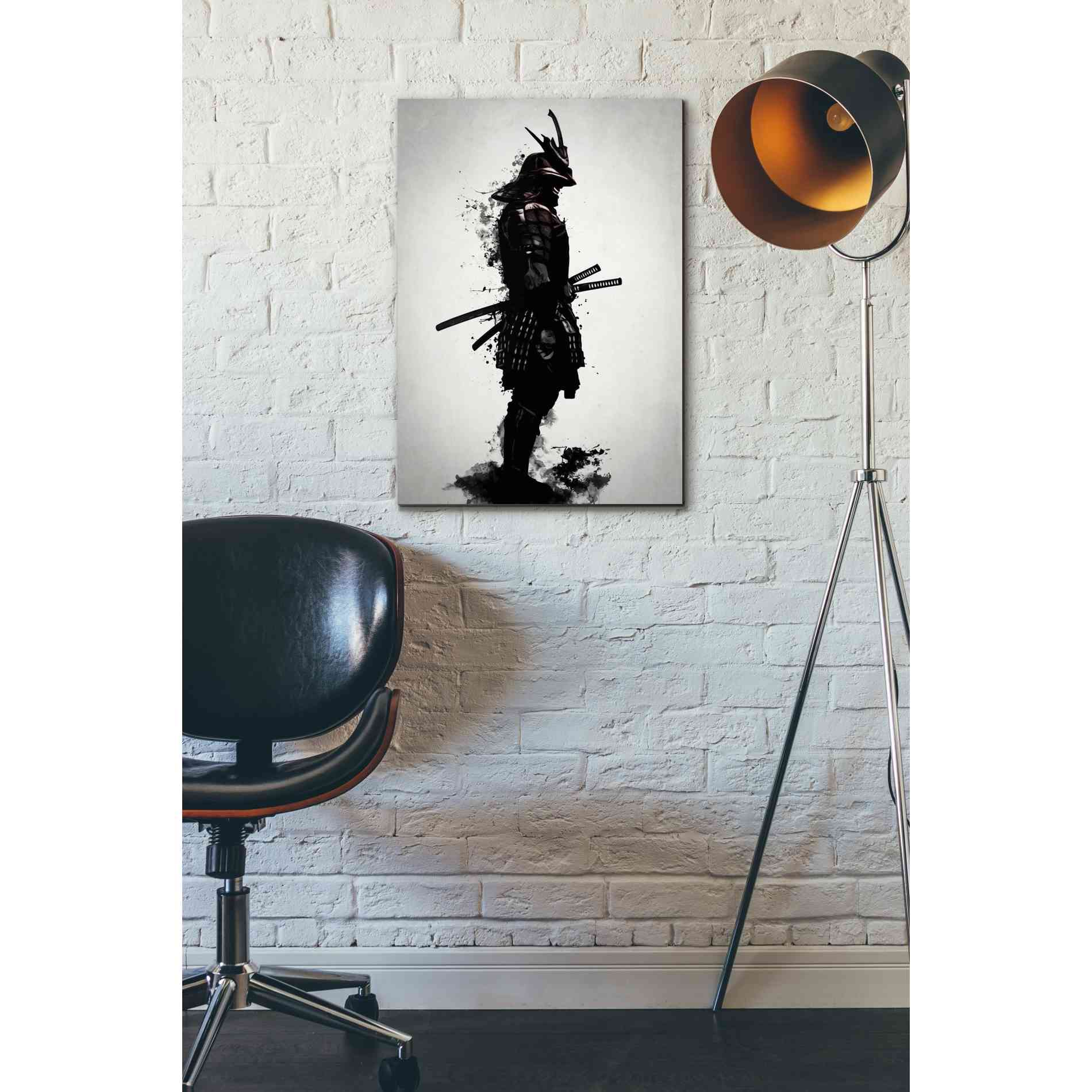 "Cortesi Home ""Armored Samurai"" by Nicklas Gustafsson, Giclee Canvas Wall Art"