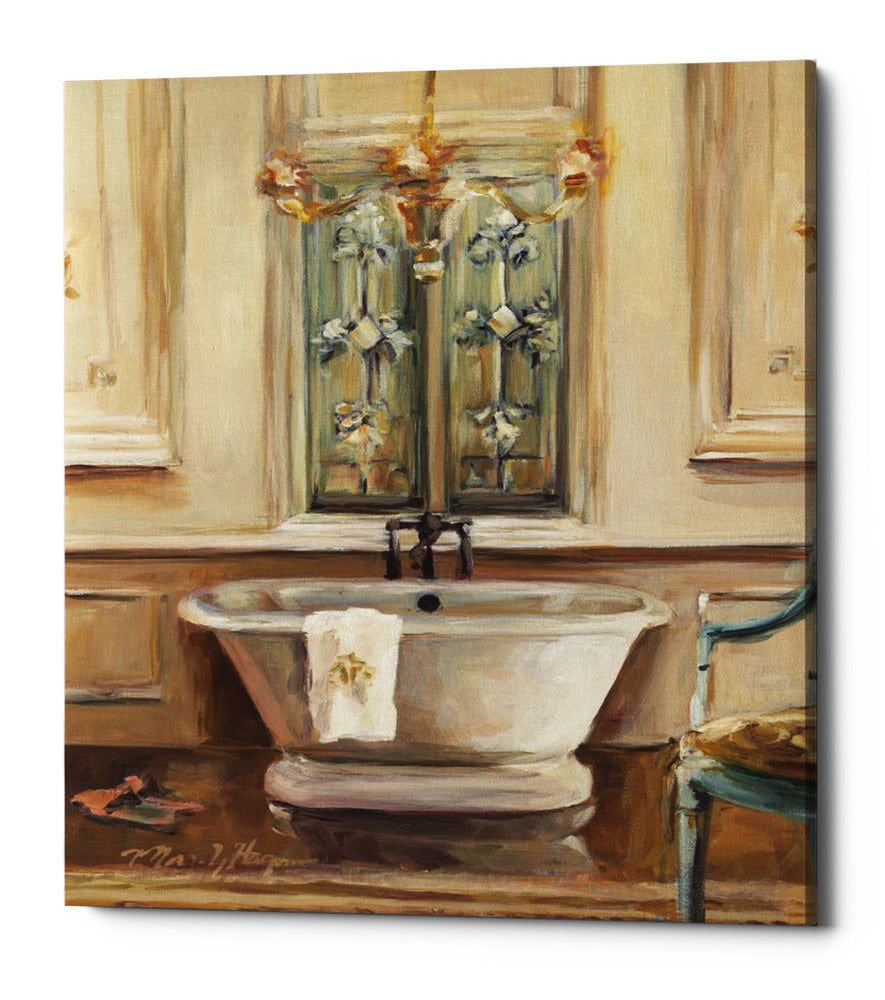 "Epic Graffiti ""Classical Bath III"" by Marilyn Hageman, Giclee Canvas Wall Art, 20""x24"""